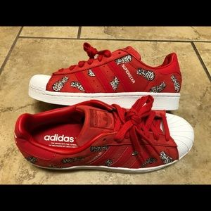 Adidas Superstar Farm Pineapple Womens Sz 9 Shoes